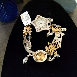 Chico's charm bracelet with watch included